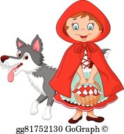 Little red riding hood clipart graphic free library Little Red Riding Hood Clip Art - Royalty Free - GoGraph graphic free library