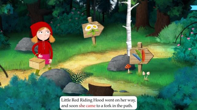 Little red riding hood path clipart jpg black and white library Little Red Riding Hood by Nosy Crow jpg black and white library
