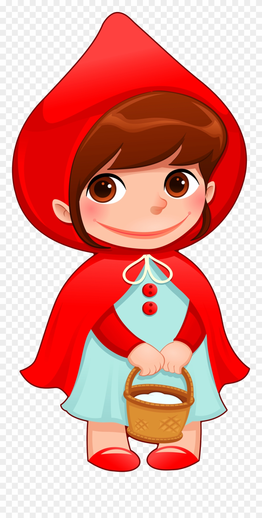 Little red riding hood path clipart picture black and white stock Red Riding Hood, Little Red, Hoods, Anime Dolls, Illustration ... picture black and white stock