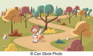 Little red riding hood path clipart png royalty free stock Little red riding hood Illustrations and Clip Art. 565 Little red ... png royalty free stock