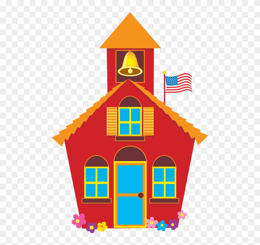 Little red schoolhouse clipart graphic royalty free stock School House Schoolhouse Images Free Download Clip - Clipart Little ... graphic royalty free stock