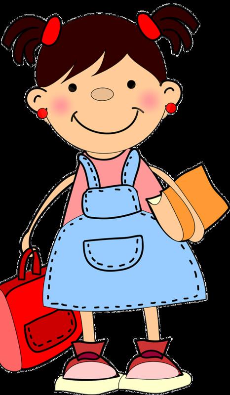 Little school girl clipart jpg freeuse library School Children 147.png | Pinterest | Clip art, School and Clip art ... jpg freeuse library