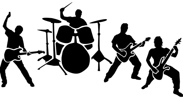 Library of live band transparent png files Clipart Art 2019