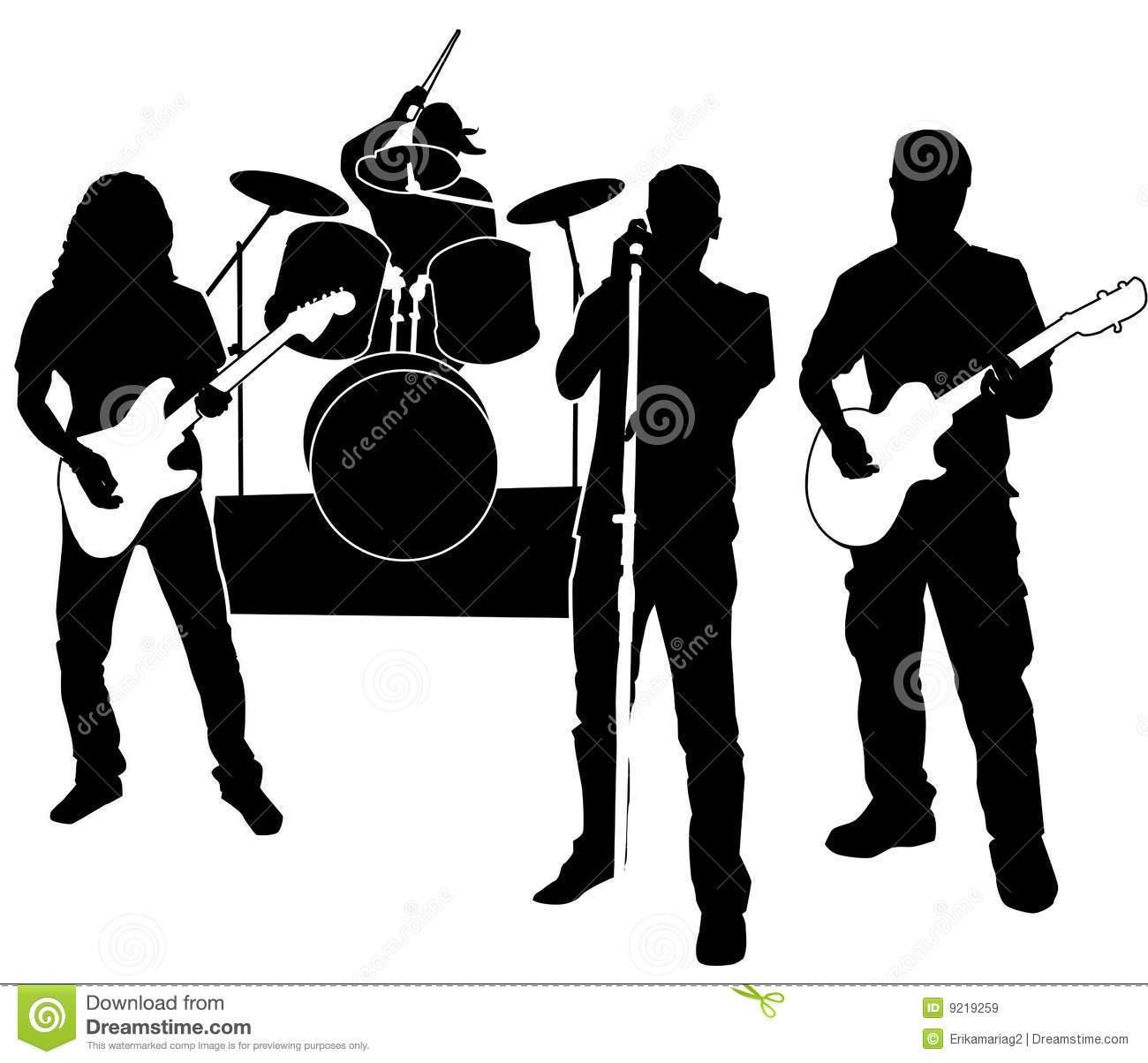 Live band clipart svg freeuse Live band clipart 3 » Clipart Portal svg freeuse