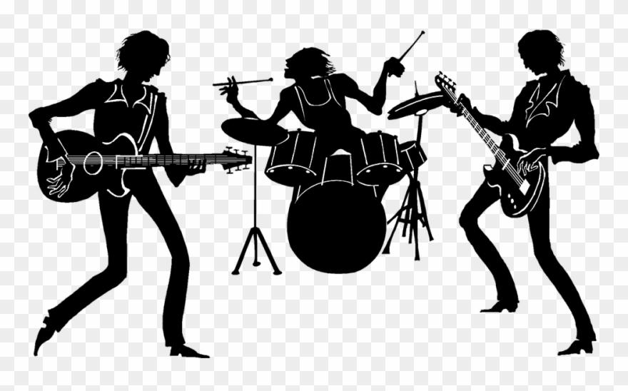 Live band clipart banner black and white download Live Band Cliparts 1, Buy Clip Art - Banda De Musica Png Transparent ... banner black and white download