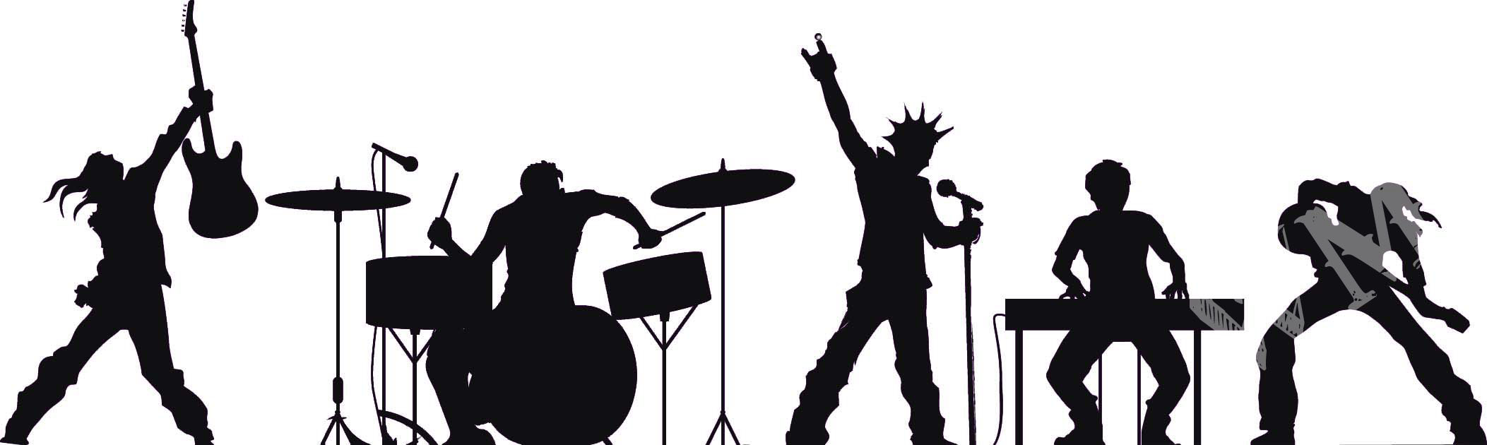 Rock band singer clipart clipart Free Live Band Cliparts, Download Free Clip Art, Free Clip Art on ... clipart