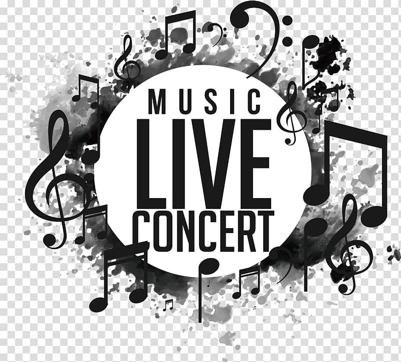 Live concert clipart png transparent download Music Live Concert illustration, Music Poster illustration, Live ... png transparent download