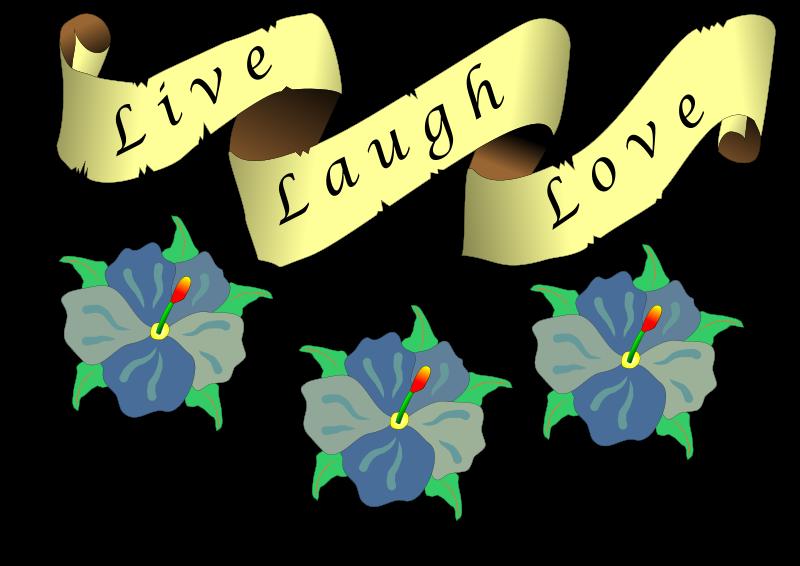 Live free clipart clip art Free Clipart: Live, laugh, love   sheaulle clip art
