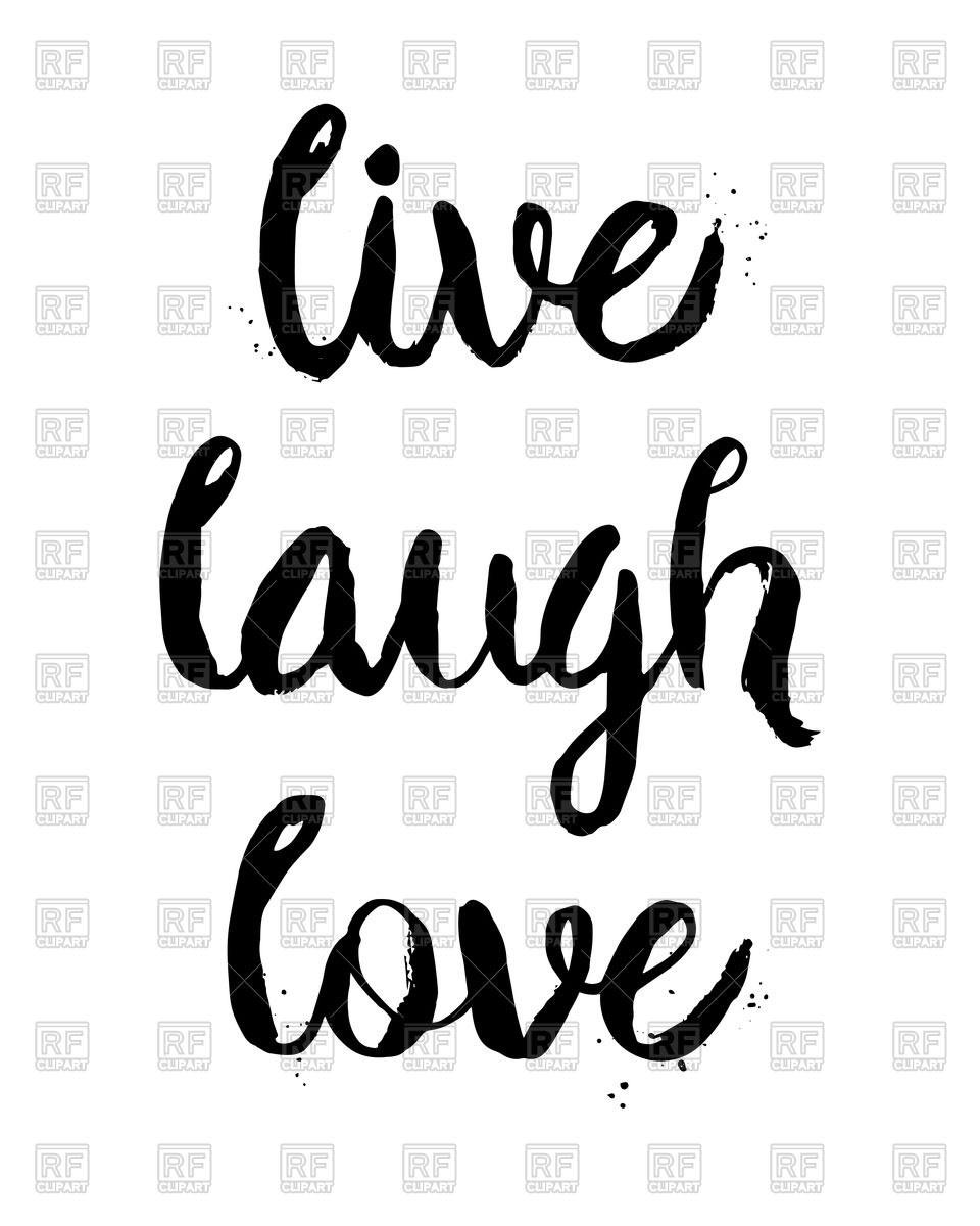 Live love laugh clipart black and white clip download Live love laugh clipart 8 » Clipart Portal clip download