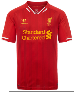 Liverpool kit clipart image freeuse stock Liverpool Home Kit | Free Images at Clker.com - vector clip art ... image freeuse stock