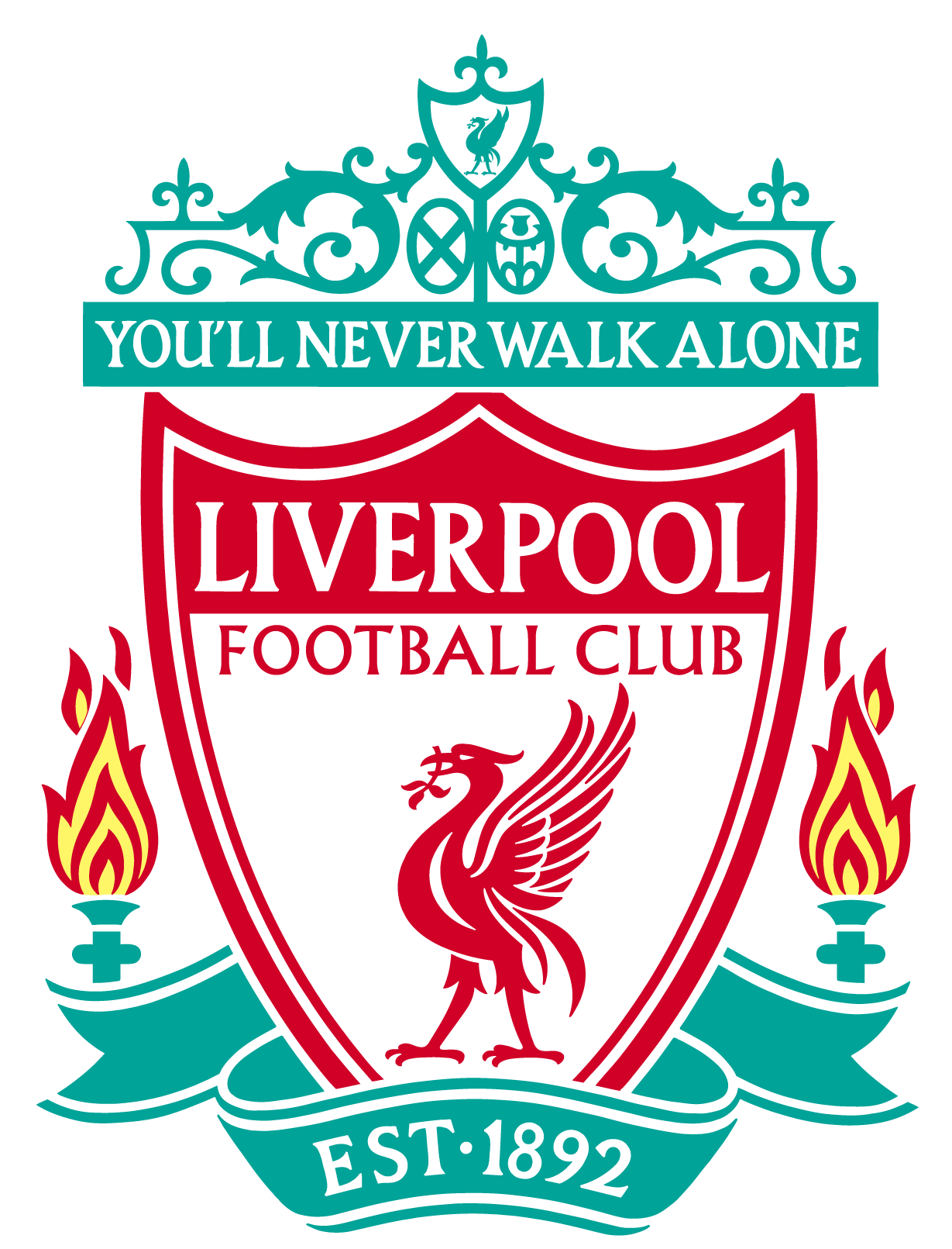 Liverpool kit clipart svg royalty free download Liverpool FC Logo Vector EPS Free Download, Logo, Icons, Clipart ... svg royalty free download