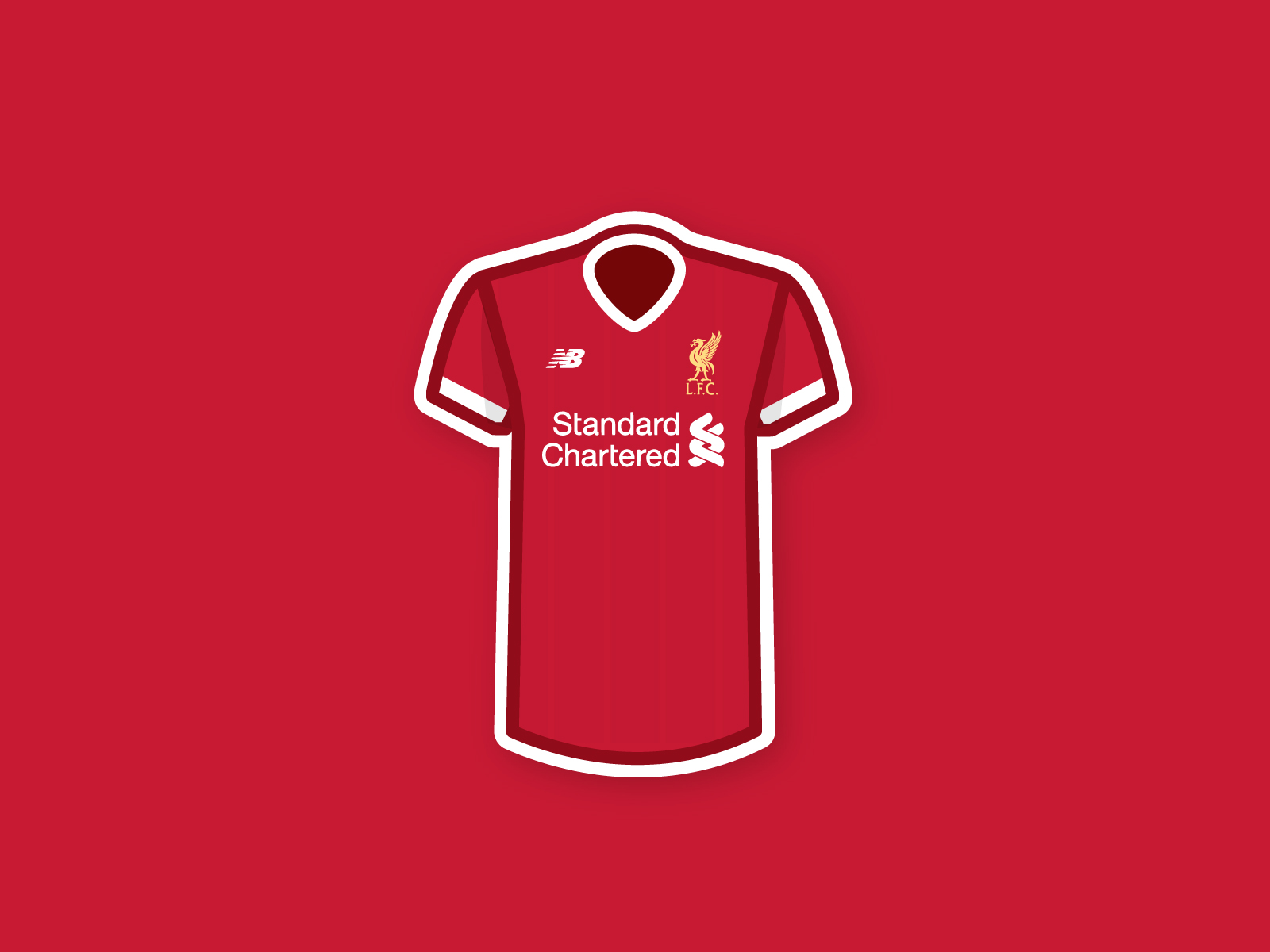 Liverpool kit clipart banner freeuse stock Liverpool Jersey Wallpapers - Wallpaper Cave banner freeuse stock