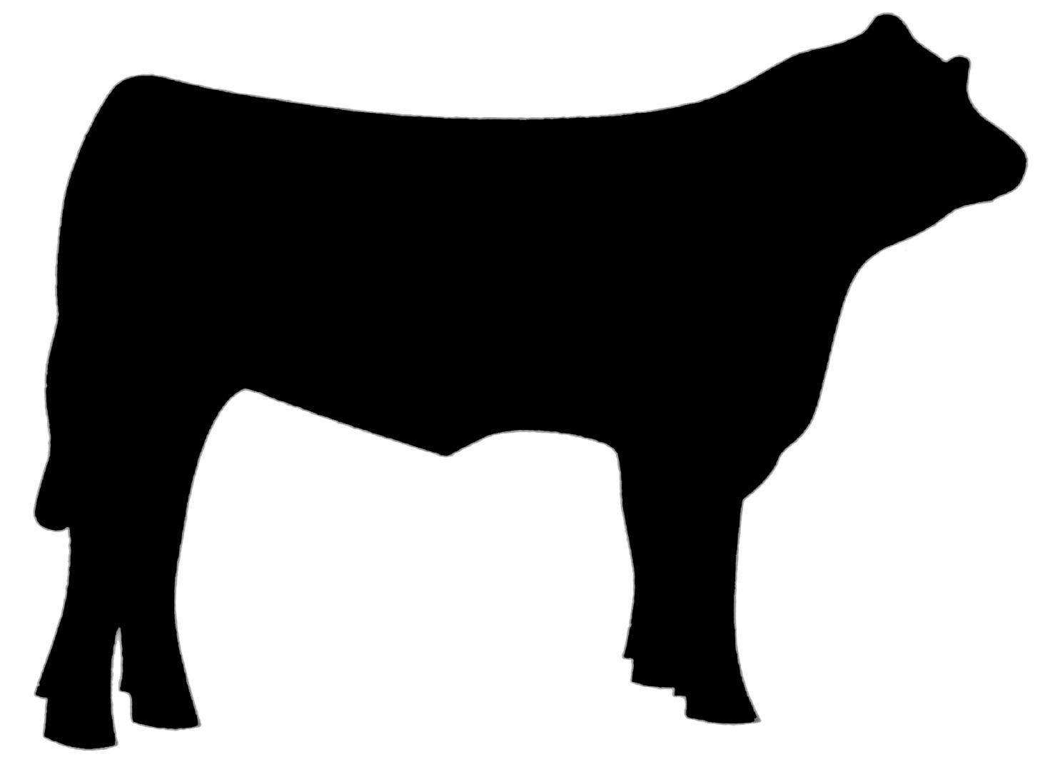 Livestock clipart free jpg black and white library Beef Steer Clip Art | Clipart Panda - Free Clipart Images | vinyl ... jpg black and white library