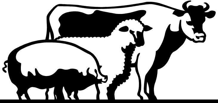 Livestock clipart free svg free stock Livestock Clipart & Look At Clip Art Images - ClipartLook svg free stock