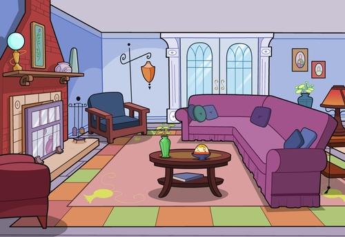 Living room clipart images jpg library download Living Room Cartoon Clip Art | Clipart Panda - Free Clipart Images jpg library download