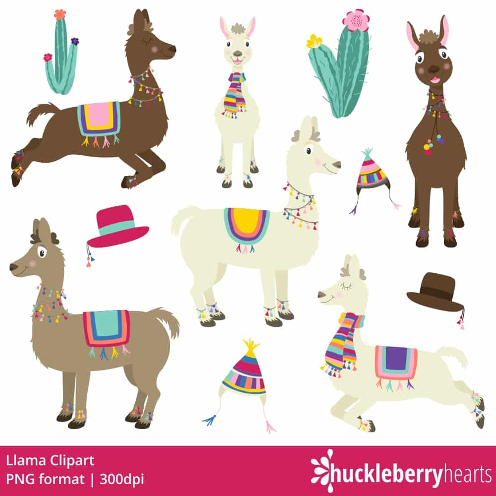 Llama clipart png black and white library Llama Clipart black and white library