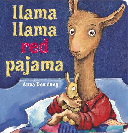 Llama llama red pajama clipart vector black and white library Llama Llama Red Pajama by Anna Dewdney   PenguinRandomHouse.com: Books vector black and white library