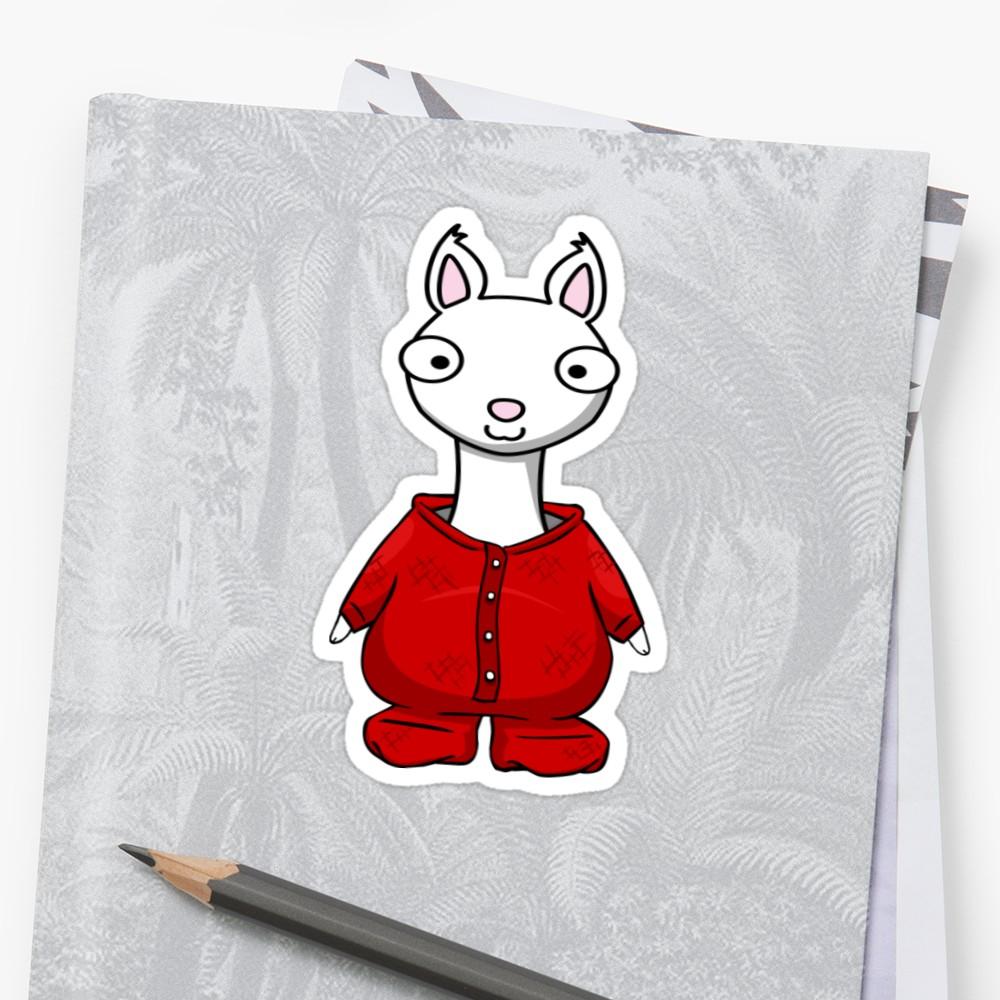 Llama llama red pajama clipart vector freeuse download Llama Llama Red Pajama   Sticker vector freeuse download