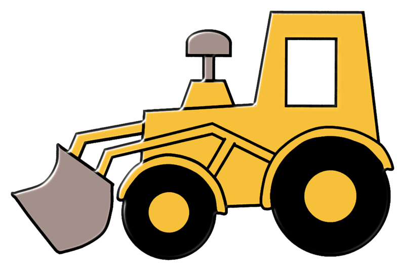 Loader clipart png black and white Front loader clip art clipart images gallery for free ... png black and white