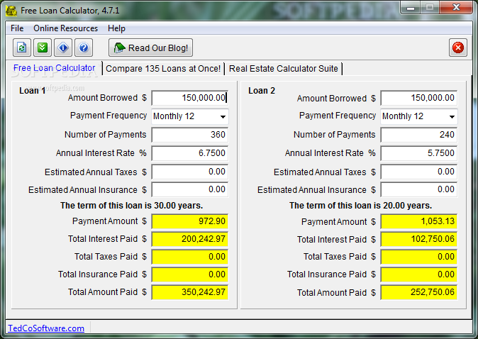 Loan calculator svg library library Free Loan Calculator Download svg library library
