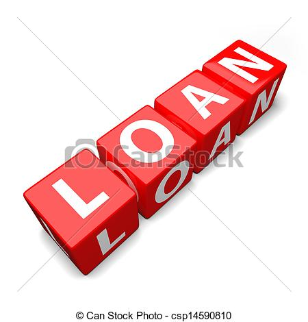 Loan clipart clipart library Clipart of loan word made of colorful toy blocks csp14590810 ... clipart library