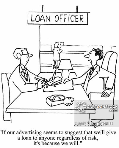 Loan officer clipart png library download Loan Officer Cartoons and Comics - funny pictures from CartoonStock png library download