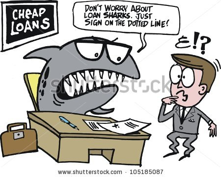 Loan shark clipart clip art stock Vector Cartoon Man Being Chased By Stock Vector 128163935 ... clip art stock