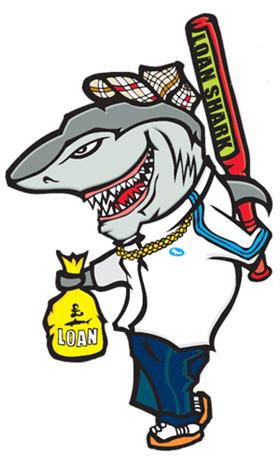 Loan shark clipart image library Loan shark clipart - ClipartFest image library