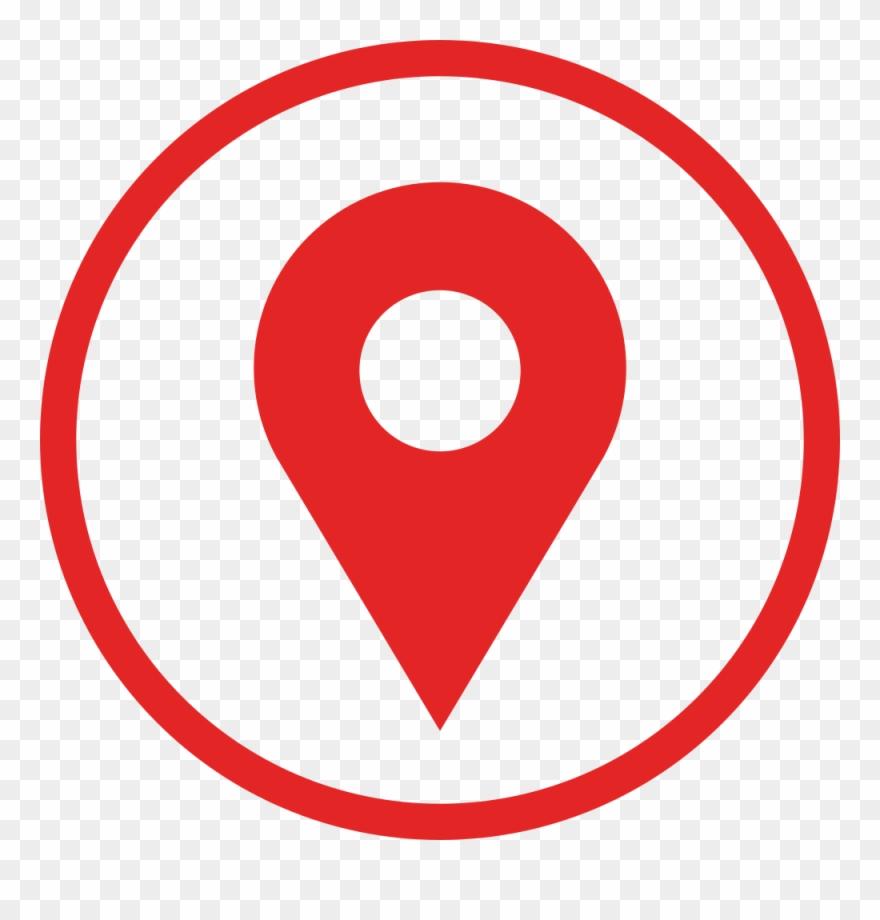 Localizacao clipart banner transparent Flat Location Logo - Simbolo De Localização Vermelho Clipart ... banner transparent