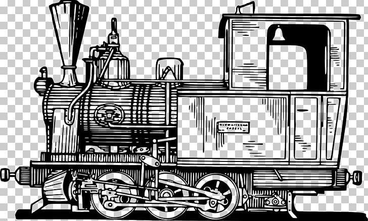 Locamotive clipart vector transparent Train Rail Transport Steam Locomotive Passenger Car PNG ... vector transparent
