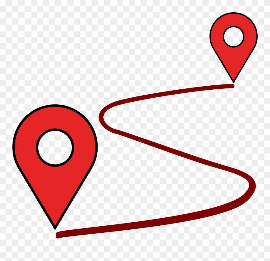 Location map clipart clip art download Location Clipart Point - Map Path - Png Download (#121494) - PinClipart clip art download