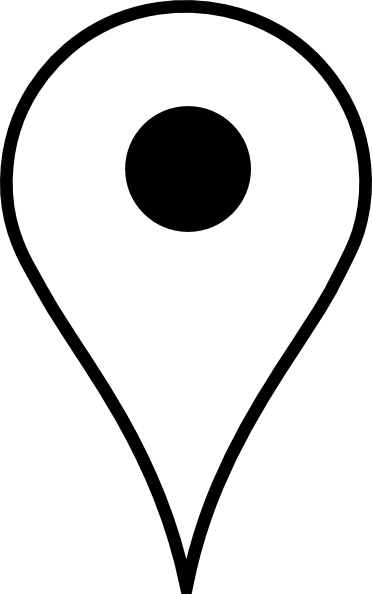 Location pin clipart png free stock Download Free png Location Pin White Clip Art a - DLPNG.com png free stock