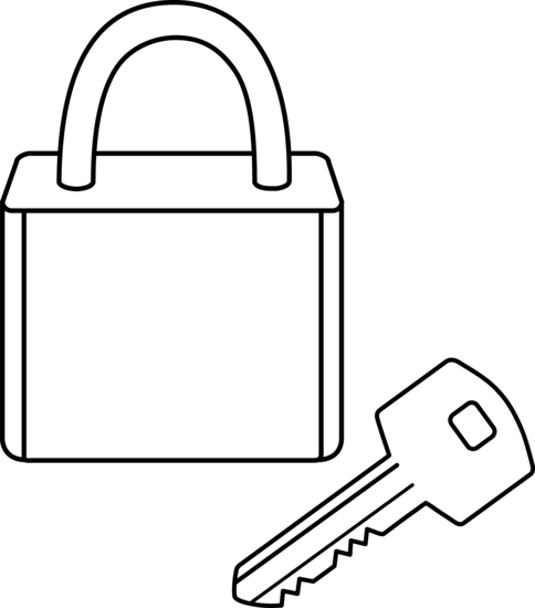 Lock and key clipart black and white picture royalty free library Key black and white photos of black art lock and key love and ... picture royalty free library