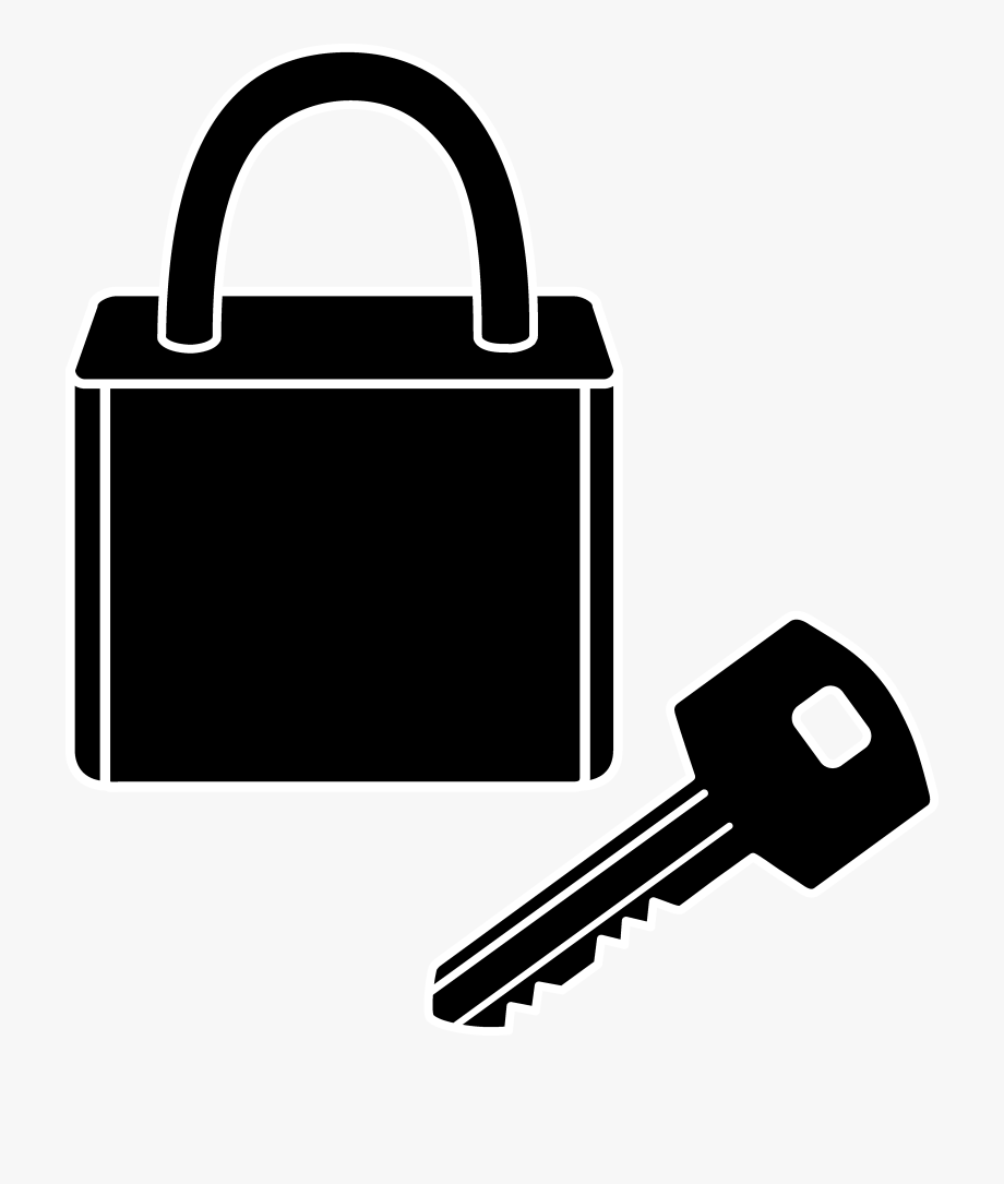 Lock and key clipart black and white image royalty free stock Png Keys And Locks Transparent Keys And Locks Images - Lock And Key ... image royalty free stock