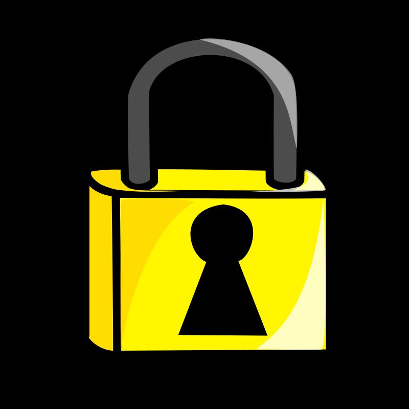 Lock clipart vector transparent stock Free clip art \