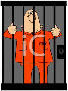 Locked out clipart graphic royalty free library A Criminal Locked Up In Jail - Royalty Free Clipart Picture graphic royalty free library