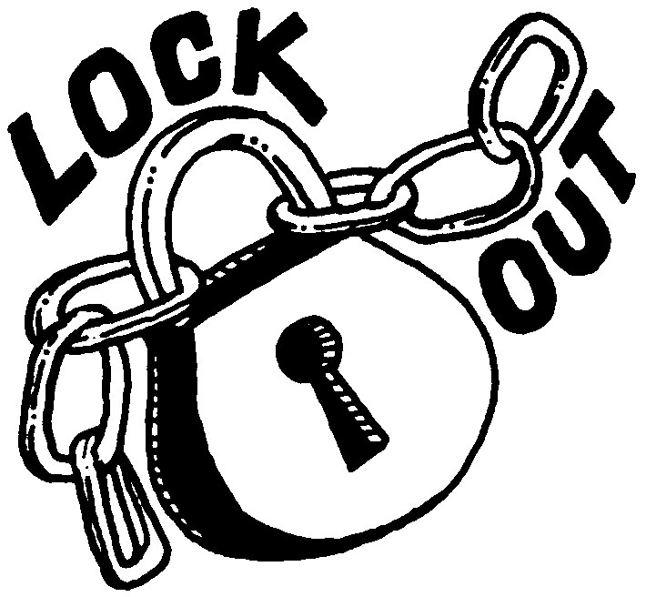 Lockout clipart clipart black and white library but during a lockout. | Clipart Panda - Free Clipart Images clipart black and white library