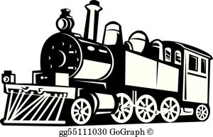 Trin clipart graphic library library Train Clip Art - Royalty Free - GoGraph graphic library library