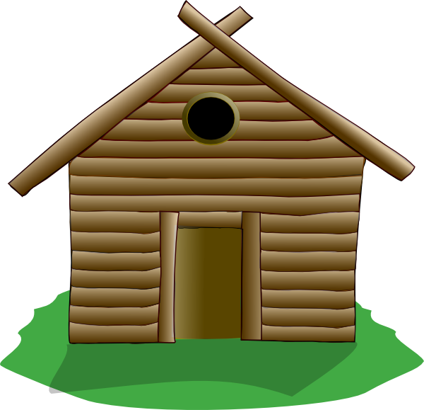 Log cabin images clipart png transparent download Log Cabin Clip Art at Clker.com - vector clip art online, royalty ... png transparent download