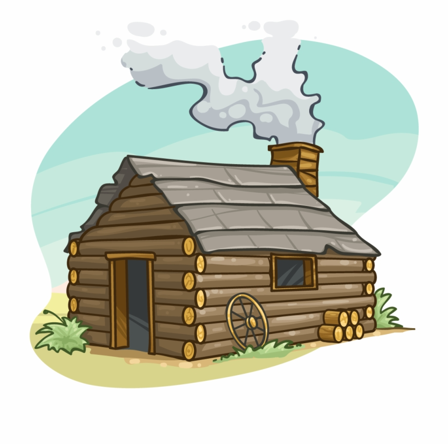Log cabin images clipart clipart black and white library Cabin Png - Log Cabin Clipart Transparent Free PNG Images & Clipart ... clipart black and white library