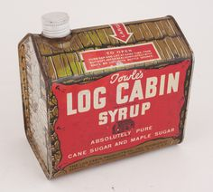 Log cabin syrup clipart vector free stock 21 Best Log Cabin Collectable images in 2016 | Cabin, Vintage tins, Tin vector free stock