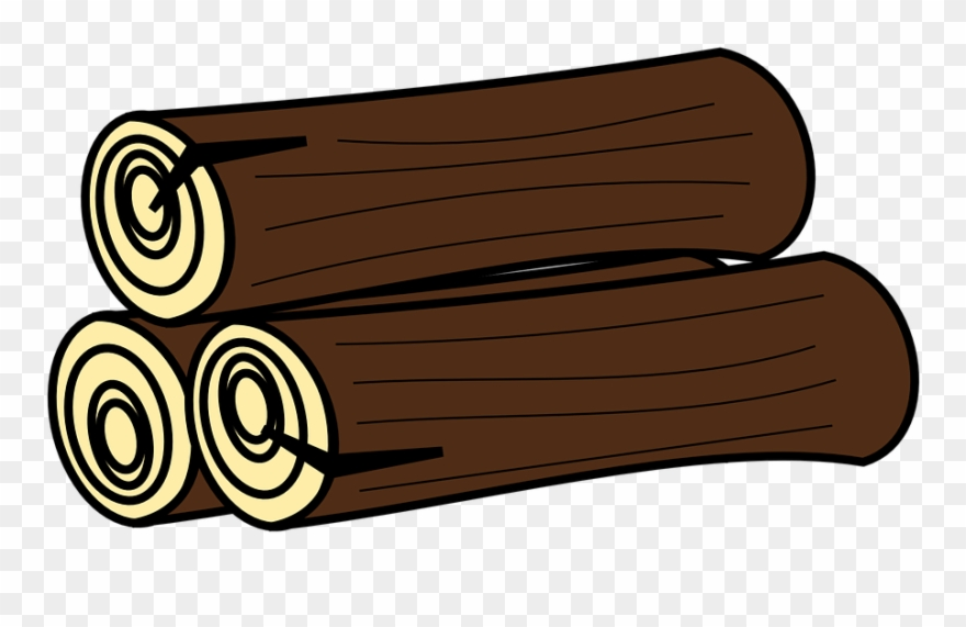 Wood log clipart svg library Log Clipart Gambar - Logs Clipart - Png Download (#203452) - PinClipart svg library