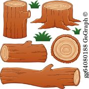 Logs clipart clipart royalty free download Logs Clip Art - Royalty Free - GoGraph clipart royalty free download
