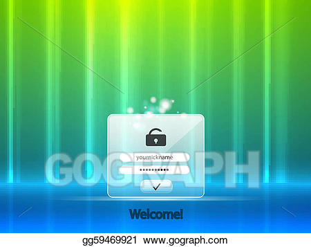 Login background images clipart clipart royalty free stock Vector Illustration - Vector login background. EPS Clipart ... clipart royalty free stock