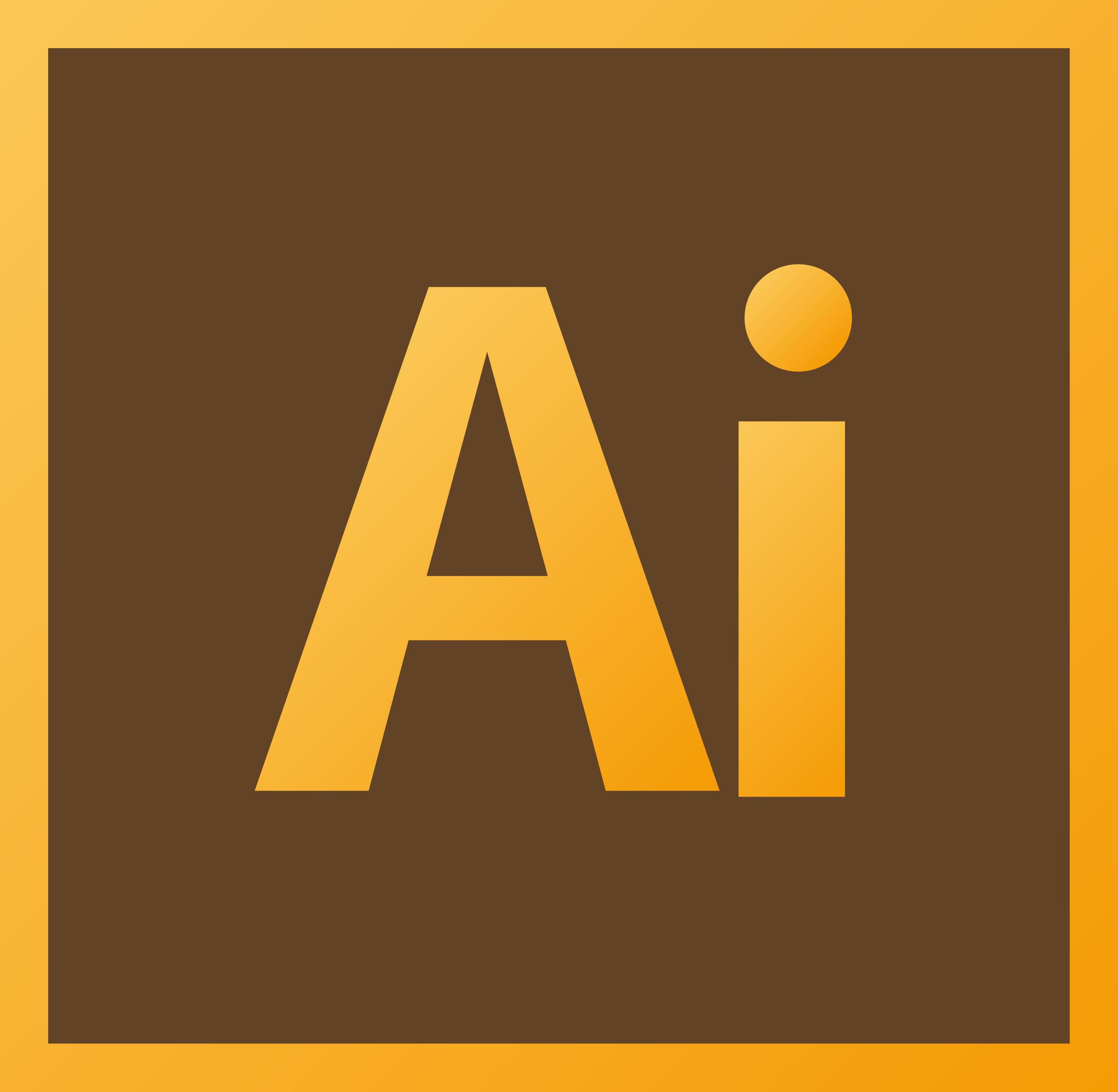 Logo adobe illustrator clipart free library AI Logo [Adobe Illustrator] Vector Icon Template Clipart Free Download free library