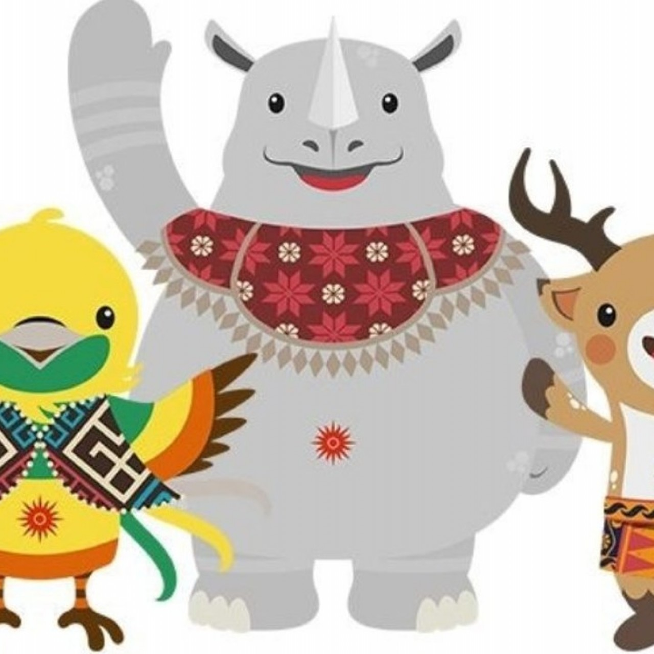 Logo asian games 2018 clipart jpg transparent library Asian Games mascots: how does 2018 trio of Bhin Bhin, Atung and Kaka ... jpg transparent library