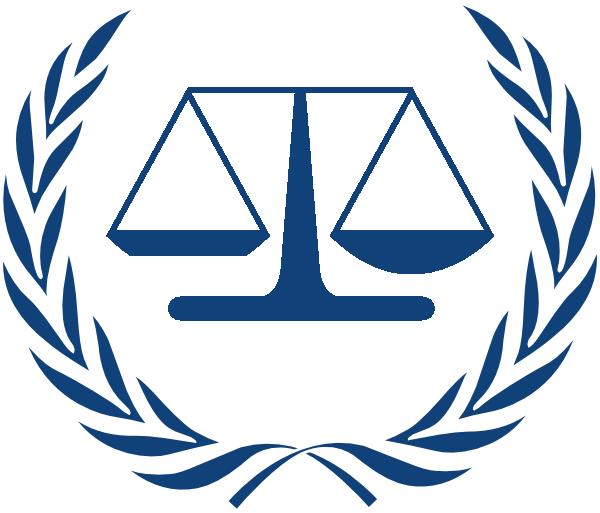 Logo clipart jpg library stock International Criminal Court Logo Clip Art at Clker.com - vector ... jpg library stock