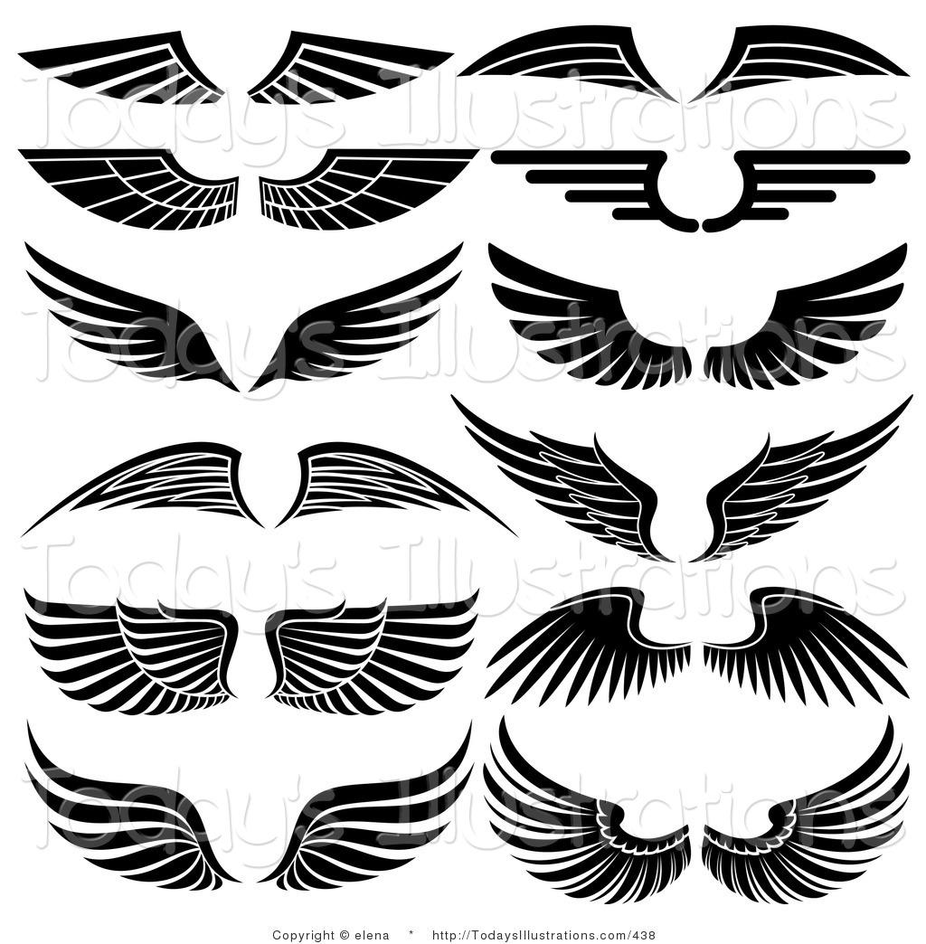 Logo clipart vector Clipart Wings Logo Clip art of Wings Clipart #6595 — Clipartwork vector