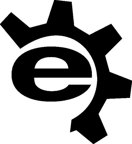 Logo clipart jpg black and white stock Logo Black Clip Art at Clker.com - vector clip art online, royalty ... jpg black and white stock