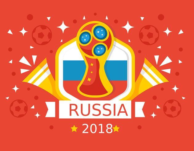 Logo copa do mundo 2018 clipart freeuse stock Free Red Background Rússia Copa do Mundo 2018 Vector ... freeuse stock